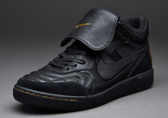 "Nike Tiempo Mid '94 ""Black/Metallic Gold"""