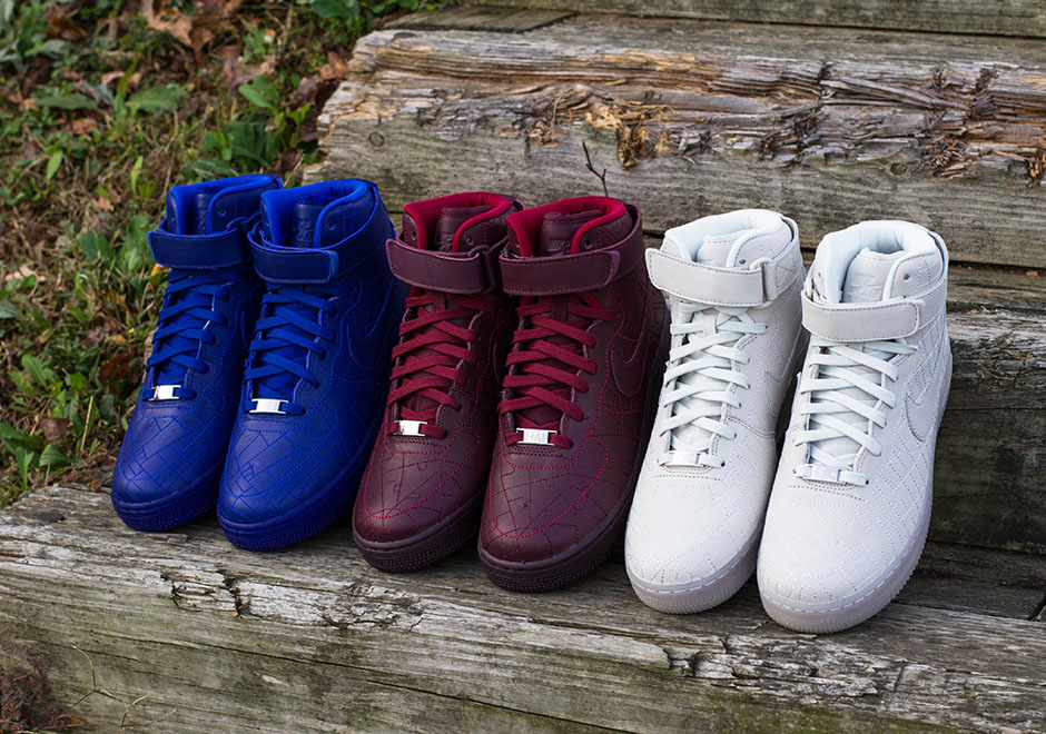 nike womens air force 1 high qs city collections