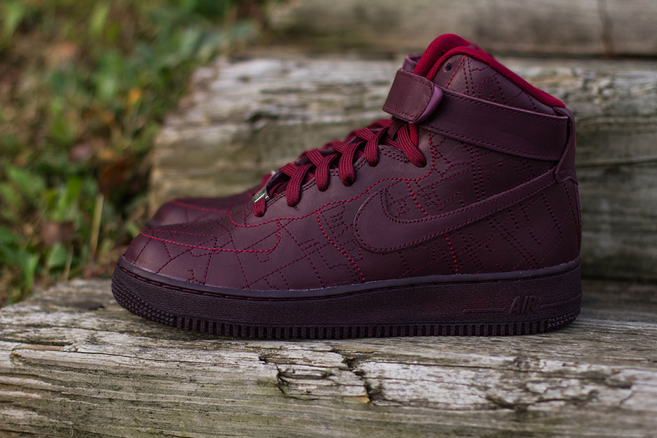 nike air force 1 high city collection