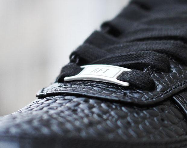 Nike Kvinners Air Force 1 07 Premie (svart Croc) 69XB52LK