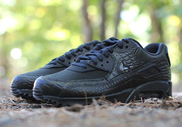 Nike Air Max 90 De Las Mujeres Negras Crocs csYWlZqUj