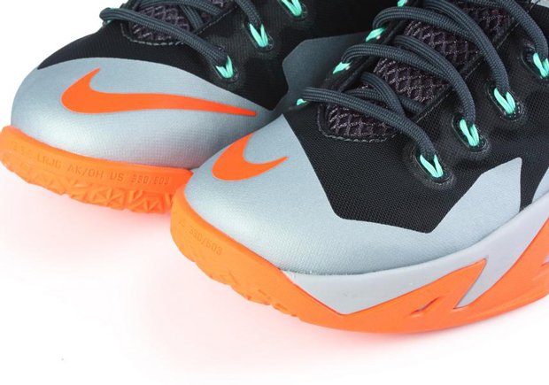 6d564d5422e0 Nike Zoom LeBron Soldier 8 - Dark Magnet Grey - Hyper Crimson - Light  Magnet Grey - SneakerNews.com
