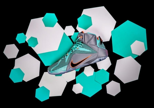 """Nike LeBron 12 """"NSRL"""" Available in Asia"""