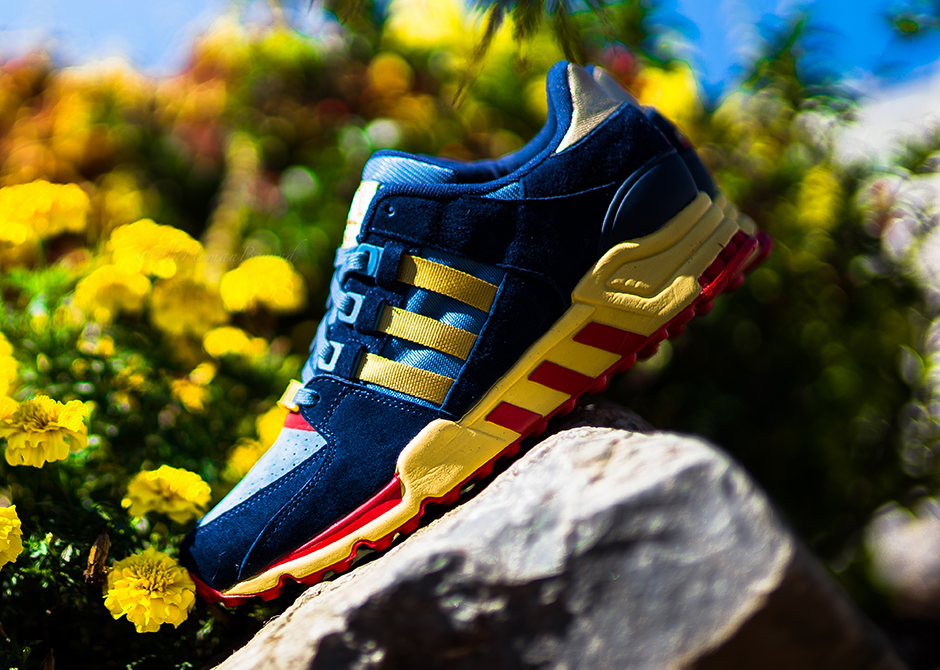 7d2ed6517ff1 Packer Shoes dips back into the adidas vault with its latest collaboration  by designing the EQT Running Support  93 after the SL80 silhouette – a  sneaker ...