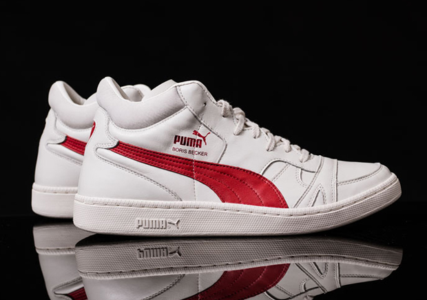 vivid and great in style pre order new concept Puma Reissue Boris Becker OG - SneakerNews.com