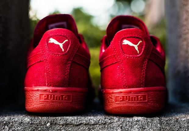 Puma De Ante Rojo Escarlata Clásico 5Y7Wini0Xj
