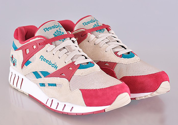aa3afe8838b14 Reebok Sole Trainer - Cream - Pink - Teal - SneakerNews.com