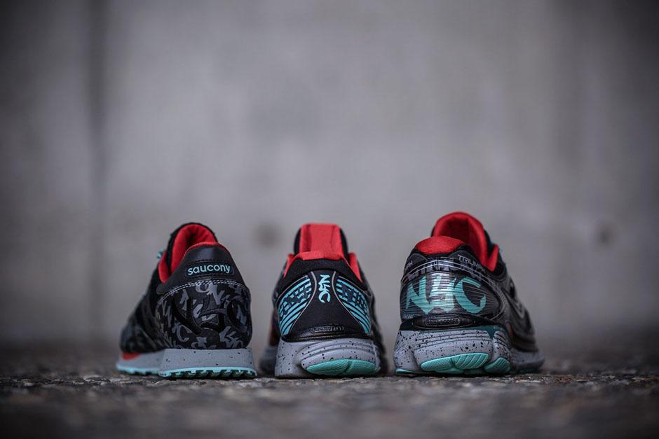 Saucony Quot Nyc Marathon Quot Pack Sneakernews Com