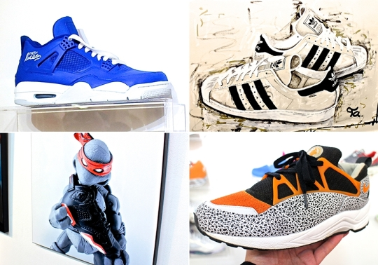 Sneaker Customs and Art Showcase at Fresh Laces