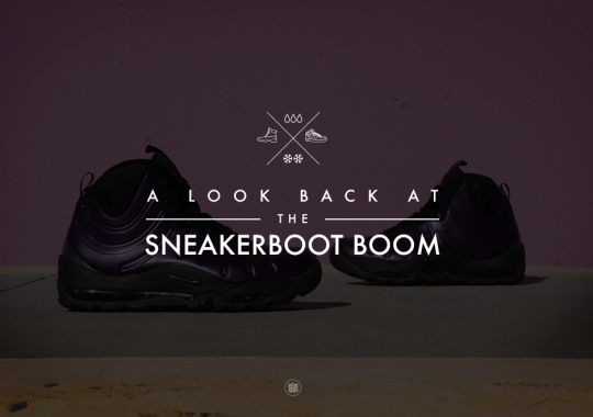 best service e88e4 a41a2 Nike ACG Air Max Posite Bakin Boot. A Look Back At The Sneakerboot Boom