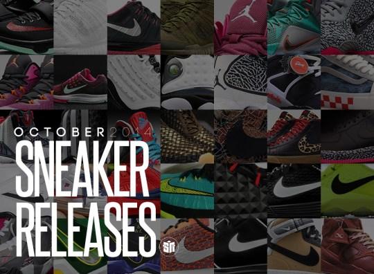 October 2014 Sneaker Releases