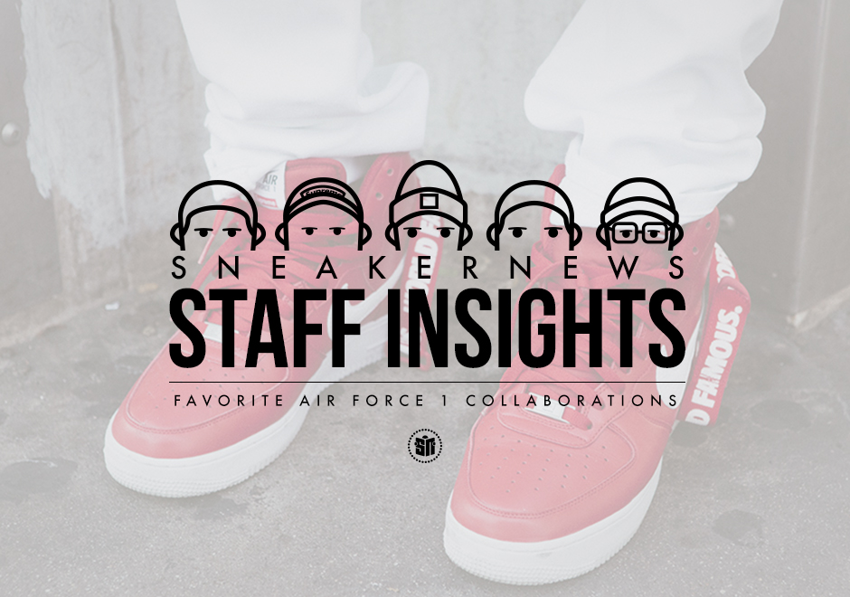 5dcf1d8fe70a Staff Insights  Favorite Nike Air Force 1 Collabs - SneakerNews.com