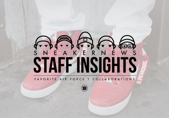 Staff Insights: Favorite Nike Air Force 1 Collabs