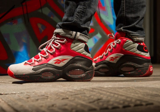 """Stash x Reebok Question Mid """"Red"""" – Release Date"""