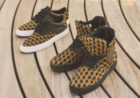 Supra Footwear Introduces Laser-Cut Pony Hair Uppers On The Skytop IV and Pistol