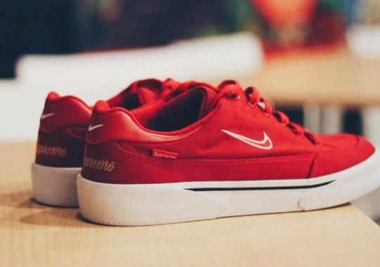 Supreme x Nike SB GTS – Red – White