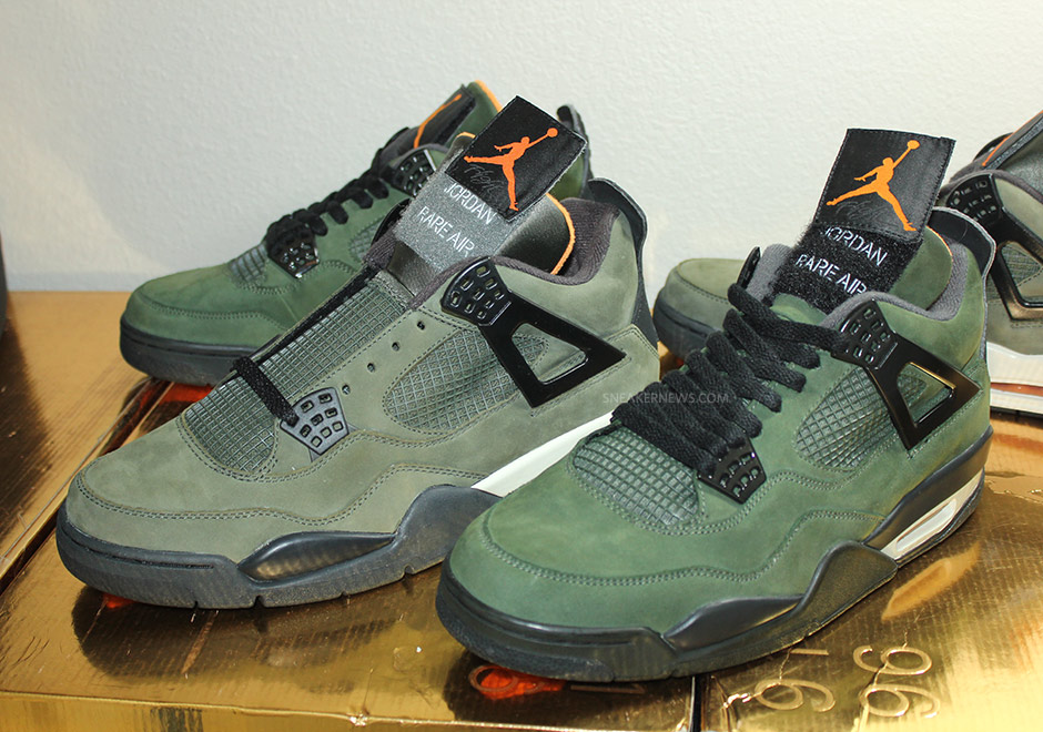 wholesale sales the sale of shoes amazon Rare Air: Comparing the UNDFTD x Air Jordan 4 with the ...
