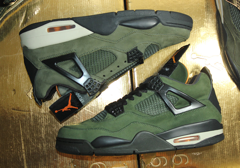 finest selection ec3b9 8bcf5 Rare Air  Comparing the UNDFTD x Air Jordan 4 with the Unreleased Version -  SneakerNews.com