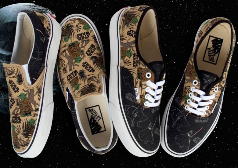 e900747fd380b4 Vans Customs Releases Exclusive Star Wars Prints - SneakerNews.com