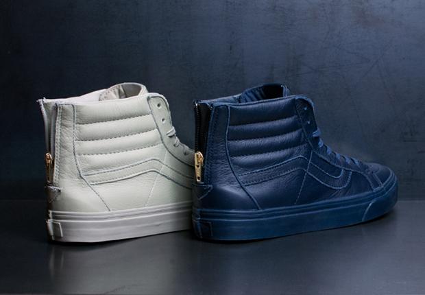 6731ae94d427 Van CA Sk8-Hi Zip Leather - Available - SneakerNews.com