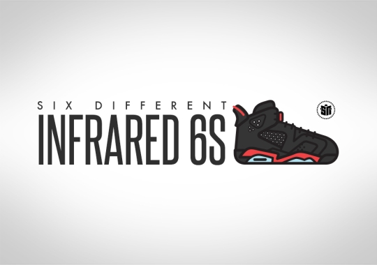 A Look Back At the Six Different Infrared 6s