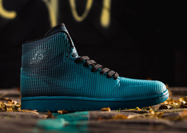 quality design 2ef01 11567 AIR JORDAN 4LAB1 Color  Black Tropical Teal Style Code  677690-020. Release  Date  12 01 14. Price   185