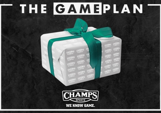 The Game Plan by Champs Sports Brings You Shoe-Flakes: Get Yours This Holiday Season