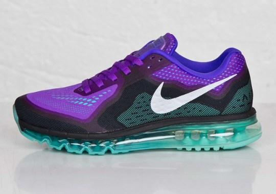 more photos 8e008 706f3 Nike Air Max 2014 – Hyper Grape – Hyper Jade