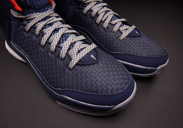 "huge selection of e922f fdb06 ... ""Woven Blues"" – Release Date Adidas D Rose 5 Boost C76491 Men Size 10.5  Metallic Silver ..."