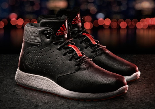 Derrick Rose Gets His Own adidas Lifestyle Shoe