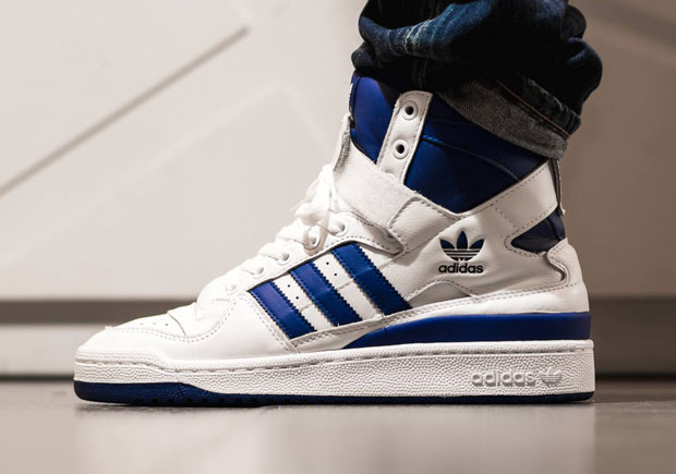 hot sale online 58657 3f65d With news that adidas Originals was returning the Forum Hi OG for its 30th  anniversary, the shoe that debuted back in the mid 80s looks to make its  ...