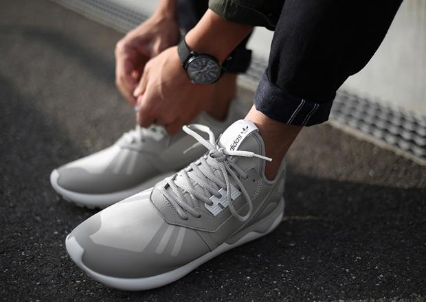 Adidas Tubular Grey And Black