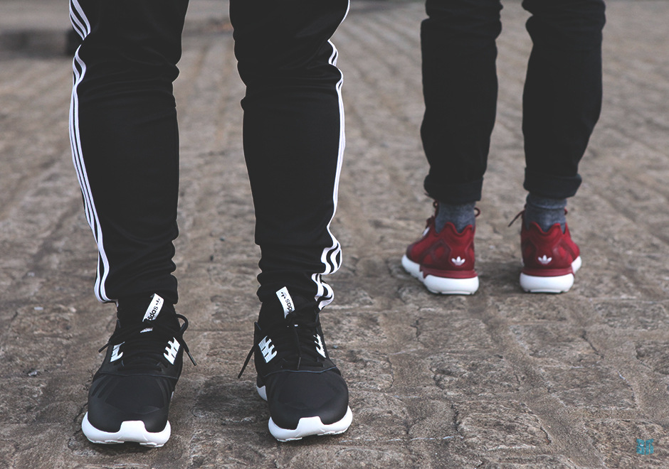 Menns Adidas Originals Rørformet Runner Midten Sko 9zpvp