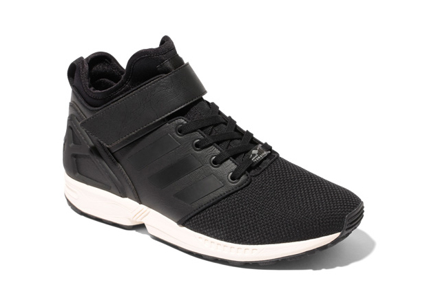 adidas zx flux mid nps black 1 adidas Originals ZX Flux NPS Mid in Two New Colorways