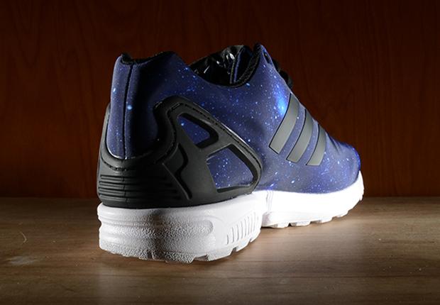 "adidas Originals ZX Flux ""Space Print"" - SneakerNews.com"