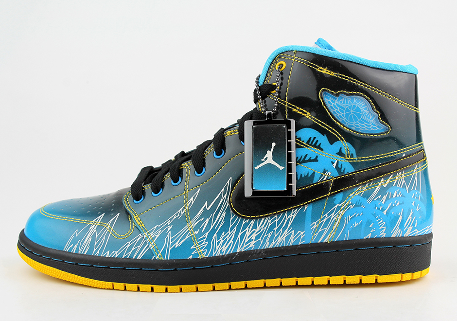 low priced f5c63 9ee52 Air Jordan 1 Doernbecher – 2008