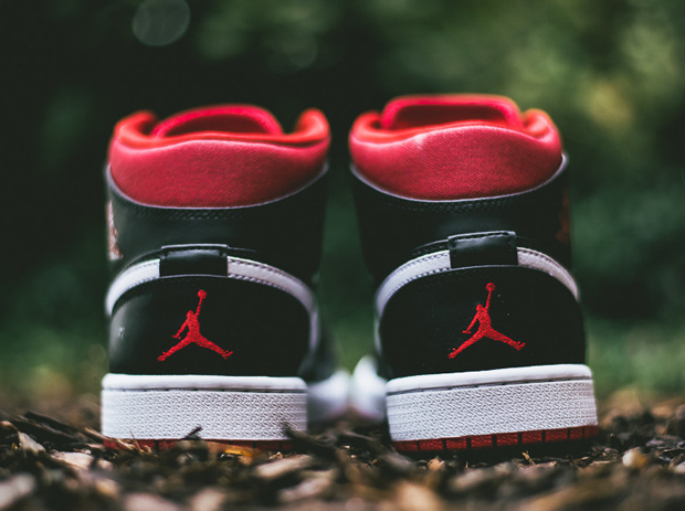 Air Jordan 1 Mid - Black - Gym Red - White - SneakerNews.com 6cea17abe