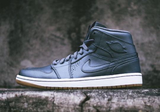 Air Jordan 1 Mid Nouveau – Cool Grey – Gum