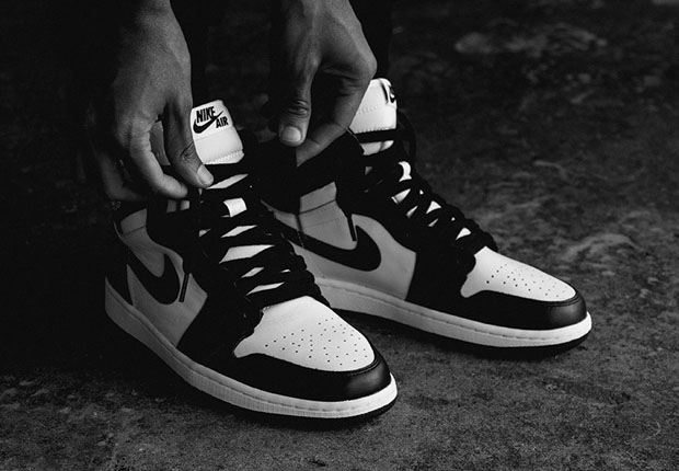 air jordan 1 retro og black and white