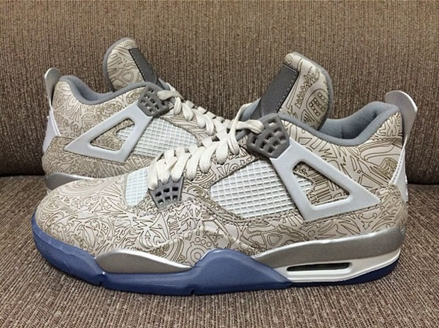 "Air Jordan 4 Retro ""30th Anniversary"" - Reflective Laser ..."
