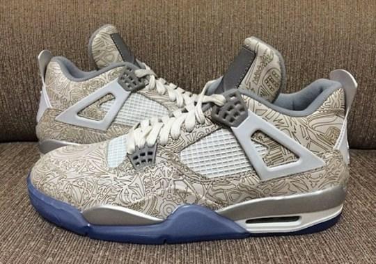 "Air Jordan 4 Retro ""30th Anniversary"" – Reflective Laser"