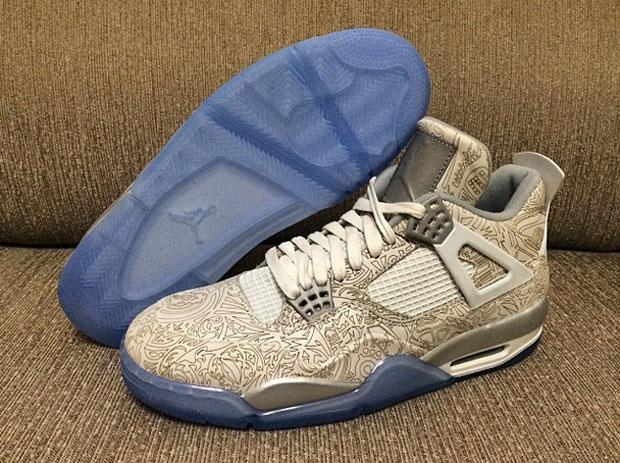 Air Jordan 4 Retro Del Laser Ebay fu7VHc