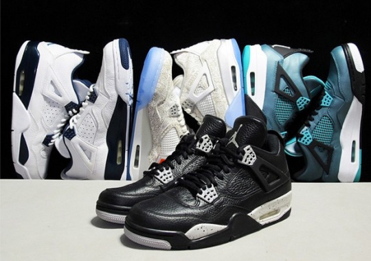 Air Jordan 4 Retro Releases For Spring 2015