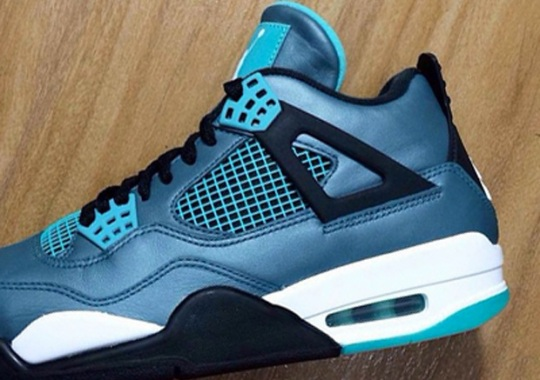 "Another Look at the Air Jordan 4 Remastered ""Teal"""