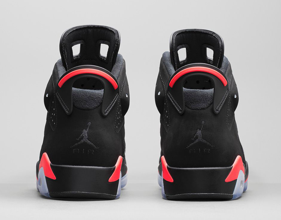 low priced 7bf9d f9a63 Black Infrared Jordan 6 Price is $185