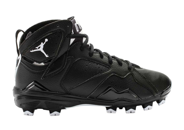 air jordan 7 cleats black white 1 Air Jordan 7 Oreo Cleats
