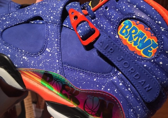 547bf937025b Air Jordan 8 Doernbecher - SneakerNews.com