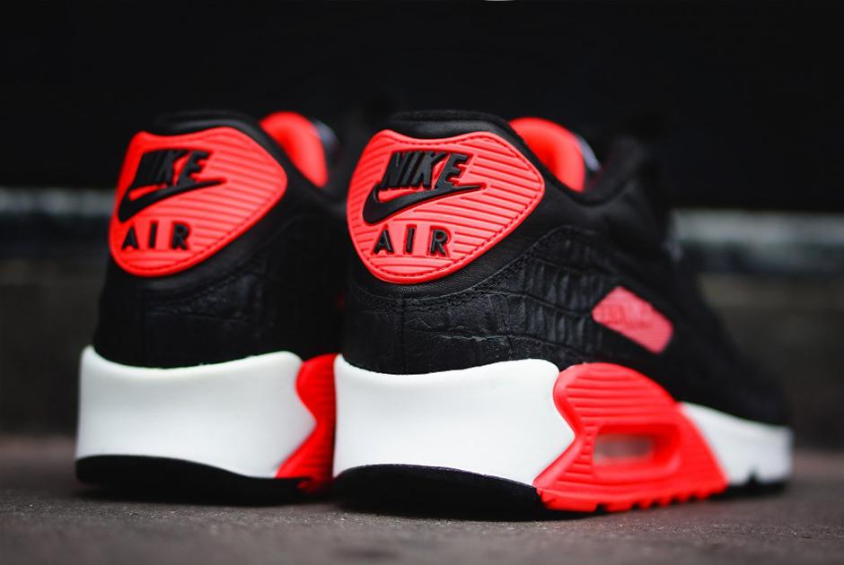 Nike Air Max 90 2014 Negro De Infrarrojos 11 YpT0YVc