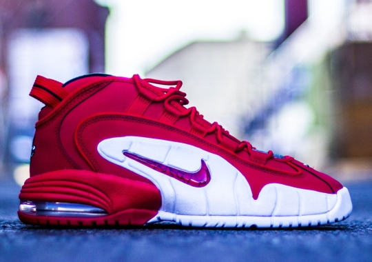 "Nike Air Max Penny ""University Red"" – Arriving at Retailers"