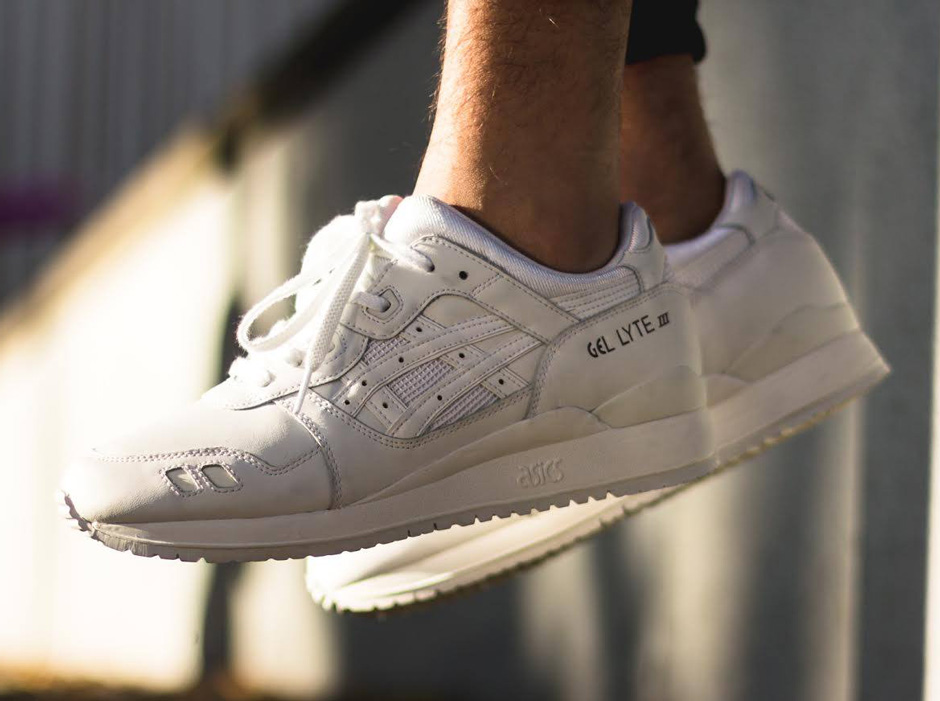 asics gel lyte 3 white dames